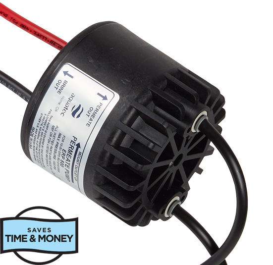 Home Master, Improve efficiency with Permeate pump